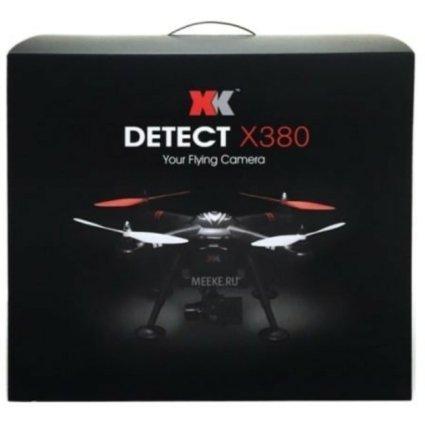 Радиоуправляемый квадрокоптер XK Innovations Detect X380 RTF 2.4G - X380